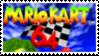 Mario Kart 64 Stamp