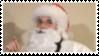 Santa Christ Stamp by laprasking