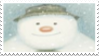 The Snowman Stamp by laprasking