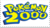 Pokemon the Movie 2000 Stamp by laprasking