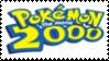 Pokemon the Movie 2000 Stamp by laprasking
