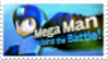 MegaMan in Smash Bros 2 Stamp