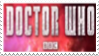 Doctor Who 2013 Stamp by laprasking