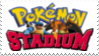 Pokemon Stadium Stamp by laprasking