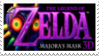Legend of Zelda Majora's Mask 3D Stamp by laprasking
