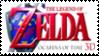 Legend of Zelda Ocarina of Time 3D Stamp