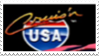 Cruise n' USA Stamp by laprasking