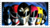 Mighty Morphin Power Rangers The Movie Stamp 2 by laprasking