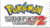 Pokemon White 2 Stamp by laprasking