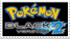 Pokemon Black 2 Stamp by laprasking