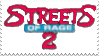 Streets of Rage 2 Stamp by laprasking