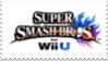 Super Smash Bros for Wii U Stamp by laprasking