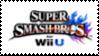 Super Smash Bros for Wii U Stamp by laprasking