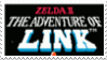 Zelda II The Adventure of Link Stamp by laprasking