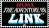 Zelda II The Adventure of Link Stamp by laprasking
