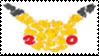 Pokemon 20th Anniversary Stamp by laprasking