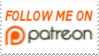 Follow Me On Patreon Stamp by laprasking
