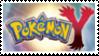 Pokemon Y Version Stamp by laprasking