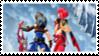 Rex + Pyra Stamp by laprasking