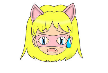 Pink Pussycat Chibi Head 13 by laprasking