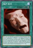 SCP-035 yu-gi-oh card