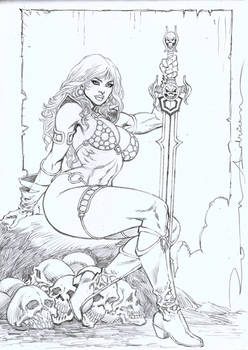 Red Sonja-She Devil with the Sword