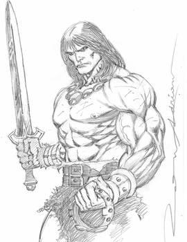 Conan the Barbarian by Ron Adrian