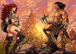 The Chronicles Of Conan And Red Sonja-COLOR