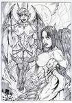 Jentai And Lilith 2 By Ant Zurser by Myrmidon2000