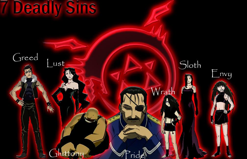 7 Deadly Sins by Bregs on DeviantArt