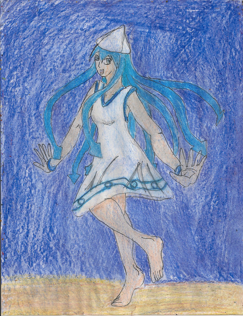 Pollpic 33 Ika Musume by kingofthedededes73