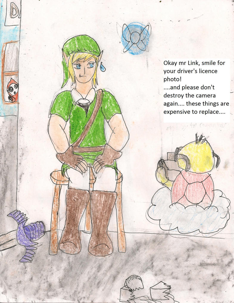 Link gets his drivers licence by kingofthedededes73