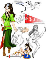 Character sheet Lunea by kingofthedededes73