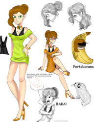 Character sheet Fortana by kingofthedededes73