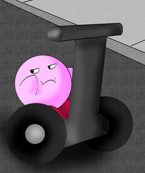 Puffball riding on a Segway? by kingofthedededes73