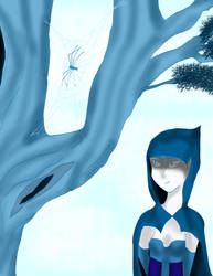 Spider's web by kingofthedededes73