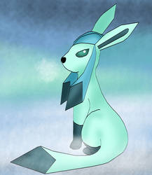 The ice eeveelution by kingofthedededes73