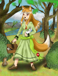 What Holo collects on Easter by kingofthedededes73