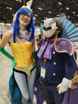 Megacon 2019 Vaporeon and the Knight by kingofthedededes73