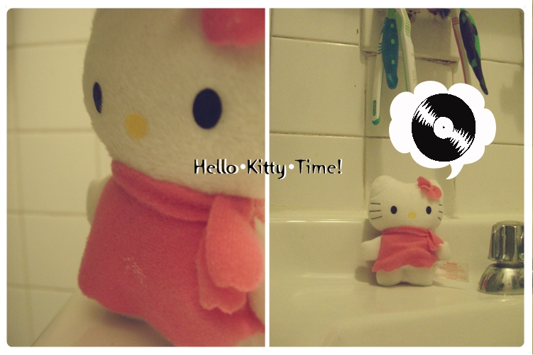 Hello Kitty In my Bathroom? by Sterlinnn