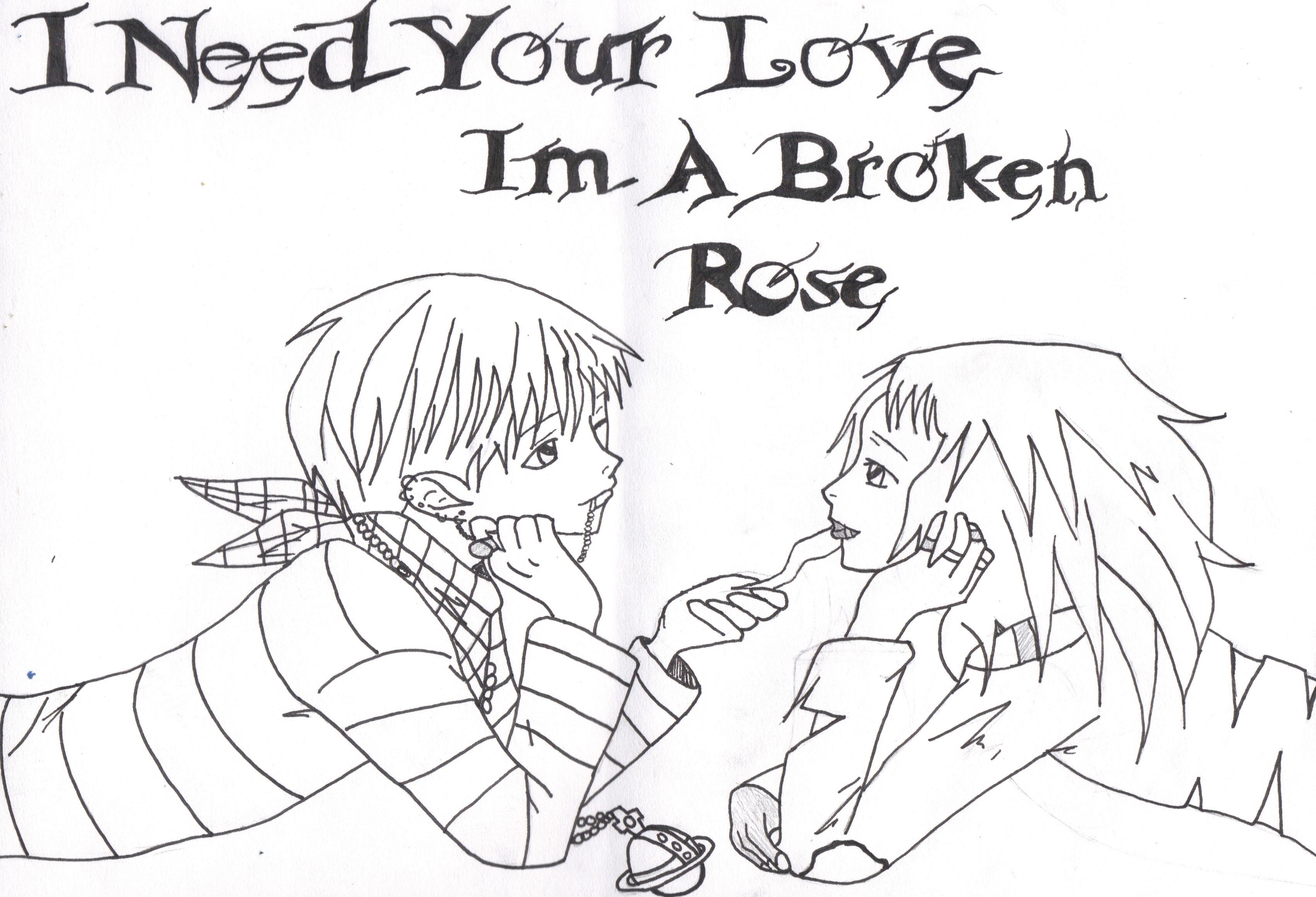 Broken heart   Broken heart, Heart drawing, Heart