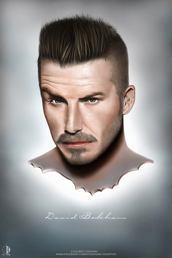 DAVID BECKHAM by DCTheArtist