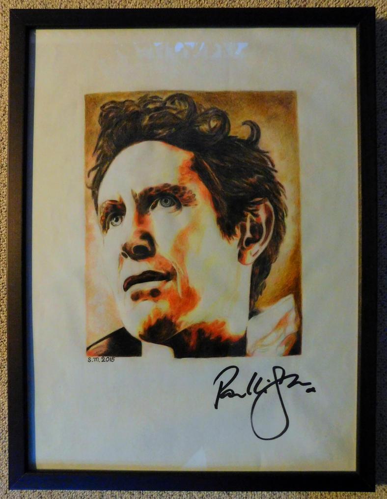 Paul McGann - The Doctor, signed by GermanCompanion