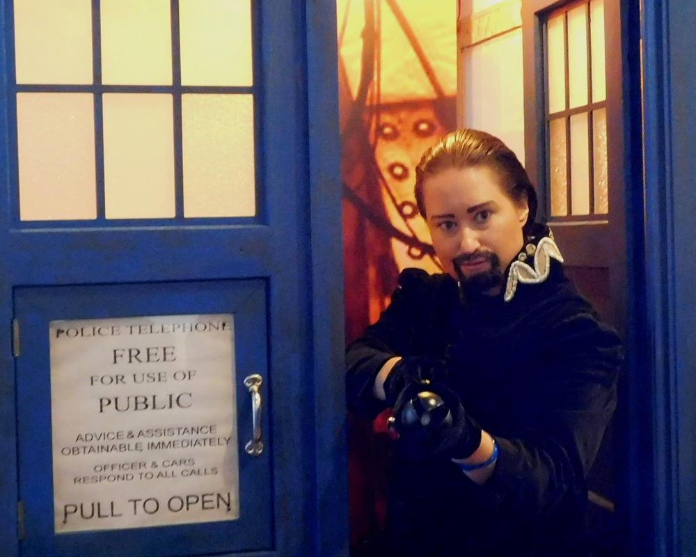 The Master has the Doctor's Tardis! by GermanCompanion