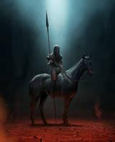 the horseman by yar0