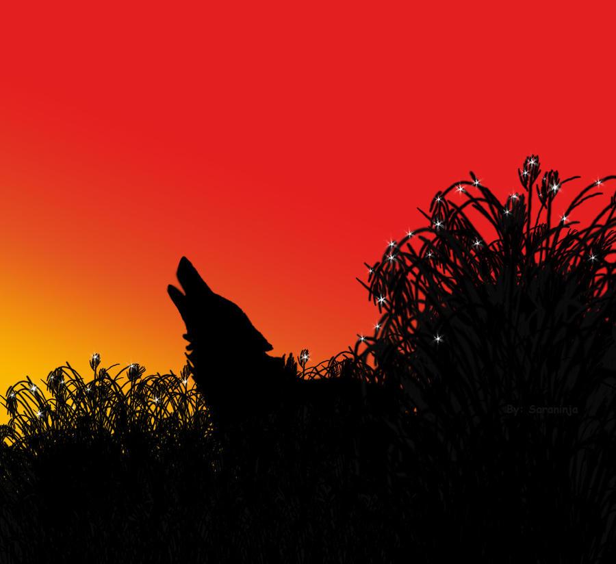 wolf twilight by saraninja