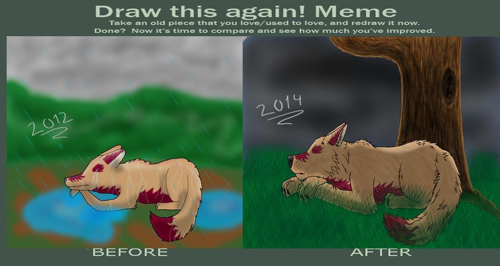 Draw This Again meme! by saraninja