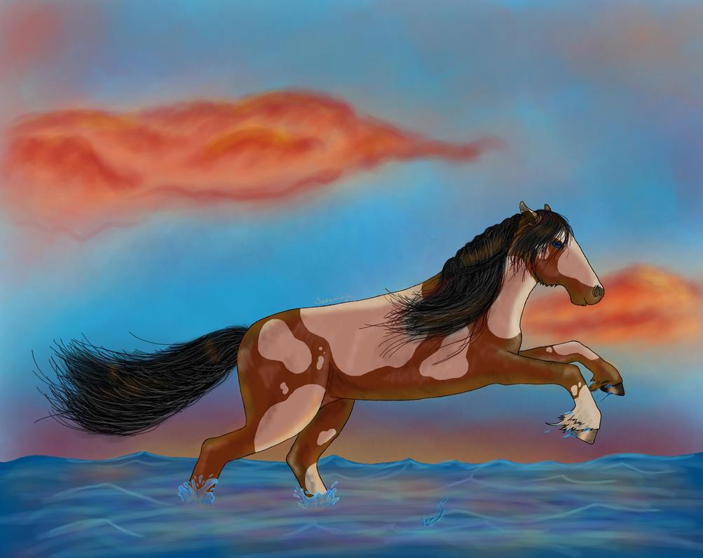 Horse by saraninja