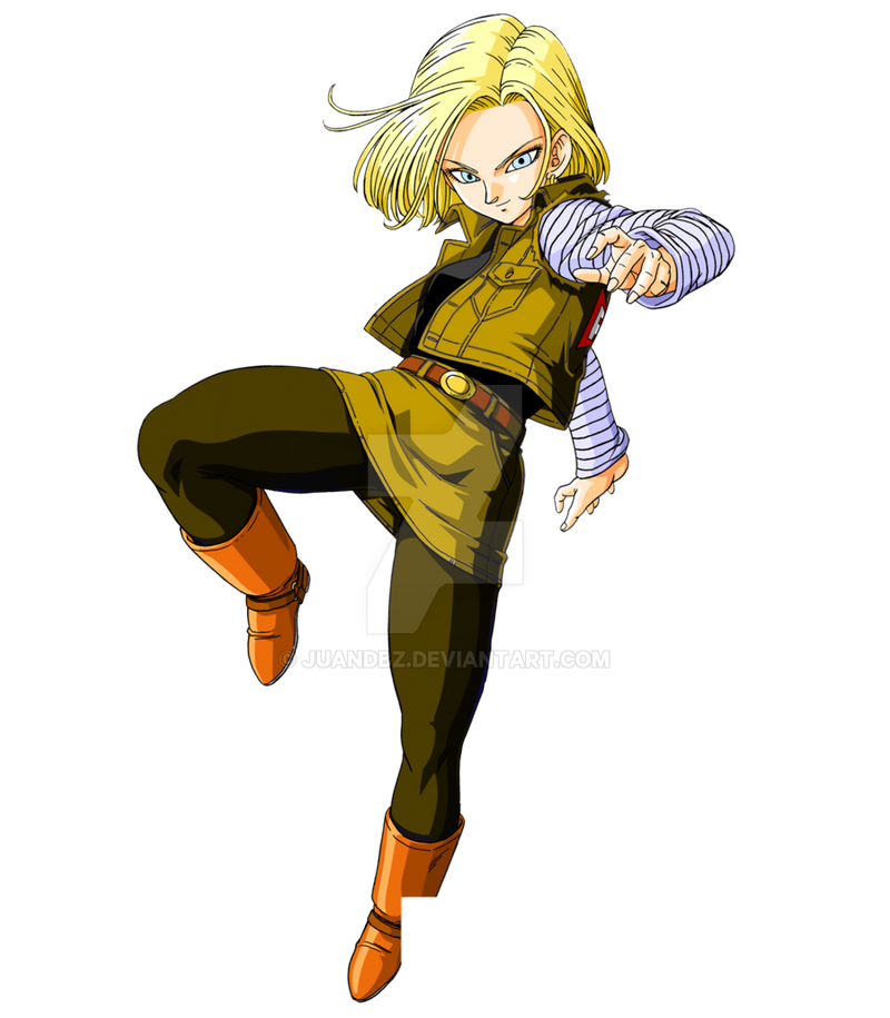Android 18 And Tail Deviantart: Fg8.1.0 Androide 18 By Juandbz On DeviantArt