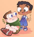 Childhood Buford and Baljeet
